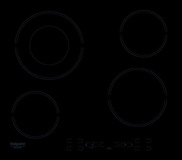 Вграден керамичен плот Hotpoint-Ariston HR 615 C
